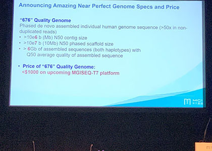 BGI Group Introduces New Technology Standard and Cost-Effective Solution for High Quality Haplotype-phased De Novo Human Genome Assembly
