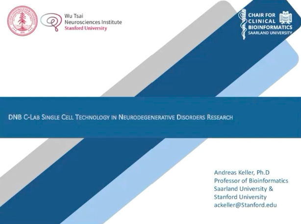 Webinar | DNB C-LAB Single Cell Technology in Neurodegenerative Disorders Research