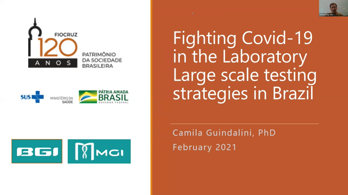COVID-19 Webinar Series | Fighting Covid-19 in the Laboratory - Large Scale Testing Strategies in Brazil