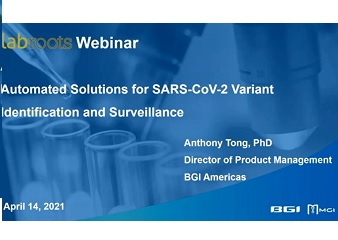 Automation Solutions for SARS-CoV-2 Variant Identification and Surveillance